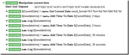 DateAndTimeReport